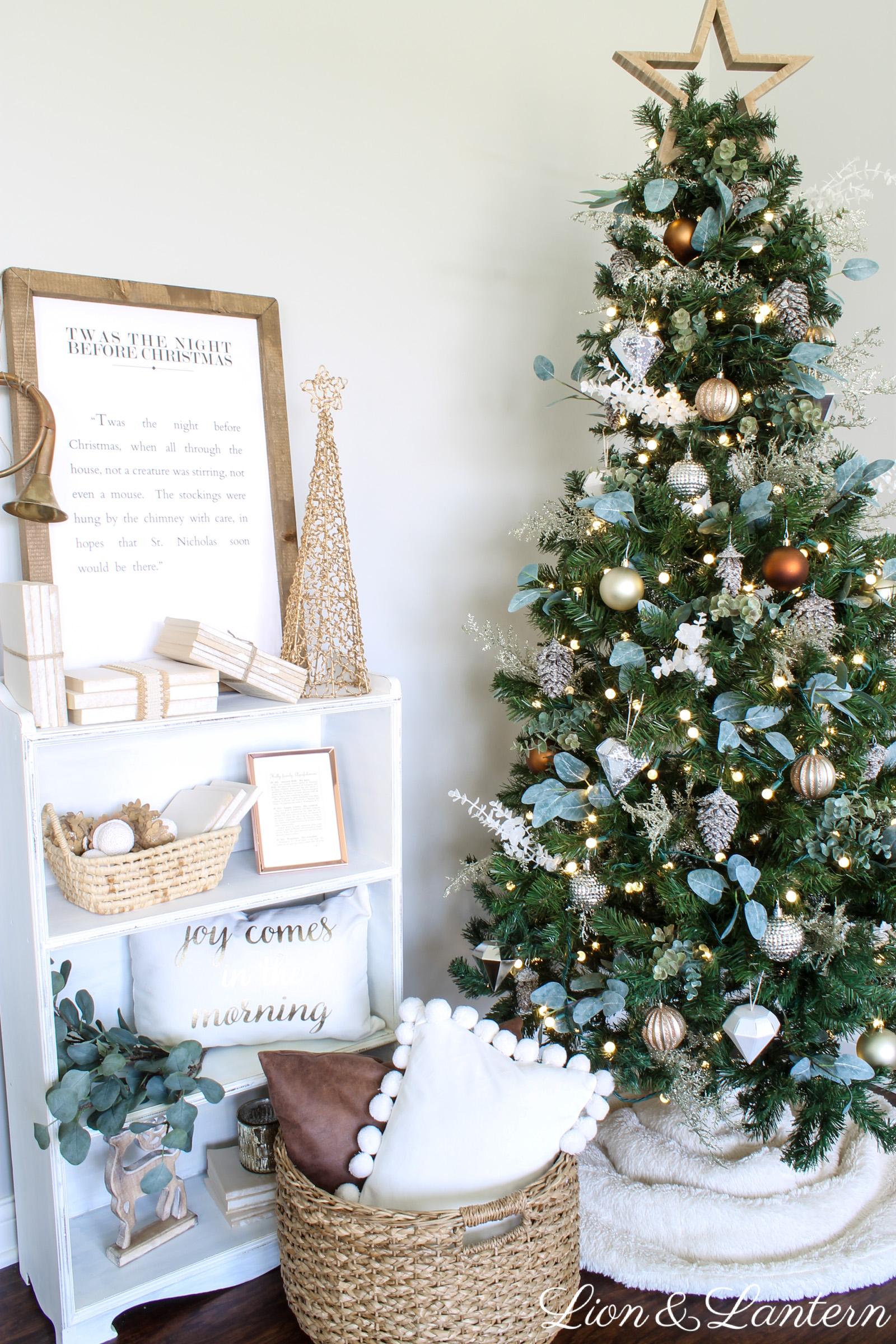 Jingle Through Decor Simple Rustic Christmas Tree Caitlin Marie Design
