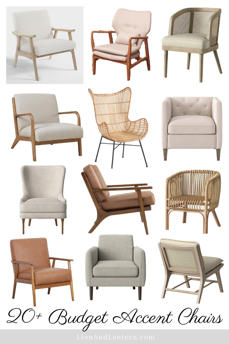 Strange 20 Budget Accent Chairs For The Casual Modern And Neutral Creativecarmelina Interior Chair Design Creativecarmelinacom