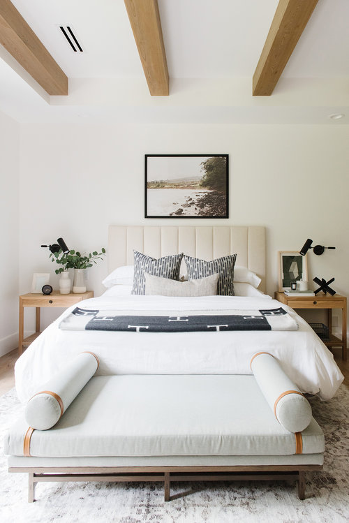 Studio McGee Lakehouse Bedroom | modern minimalist traditional