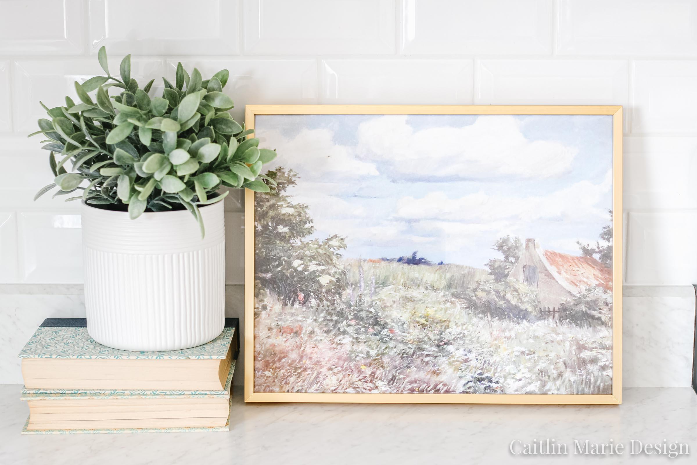 150+ Fine Art Printables from Etsy | landscape art, art prints, impressionist painting, budget decor, modern traditional home