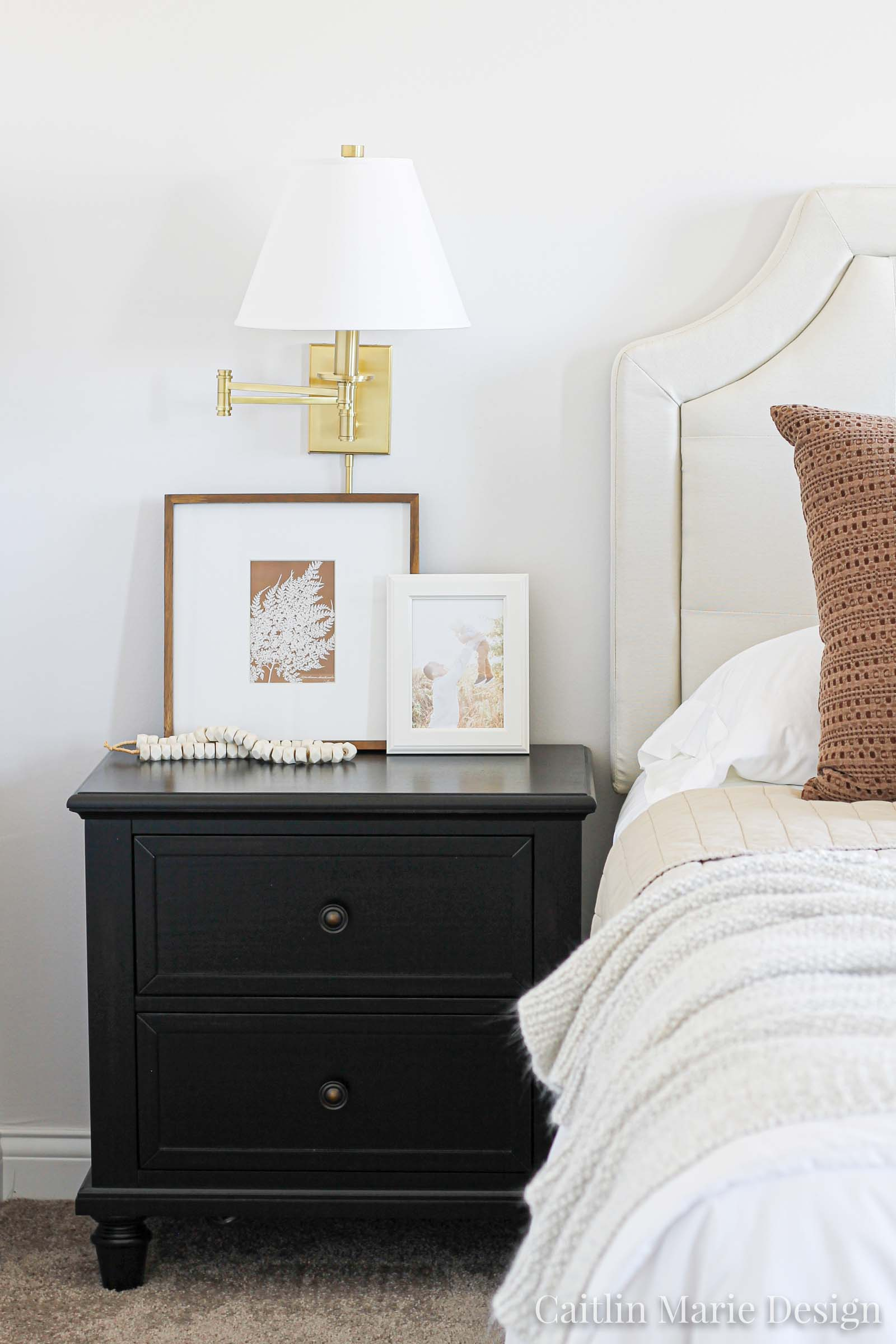 How To Style Nightstands Orc Week 5 Caitlin Marie Design