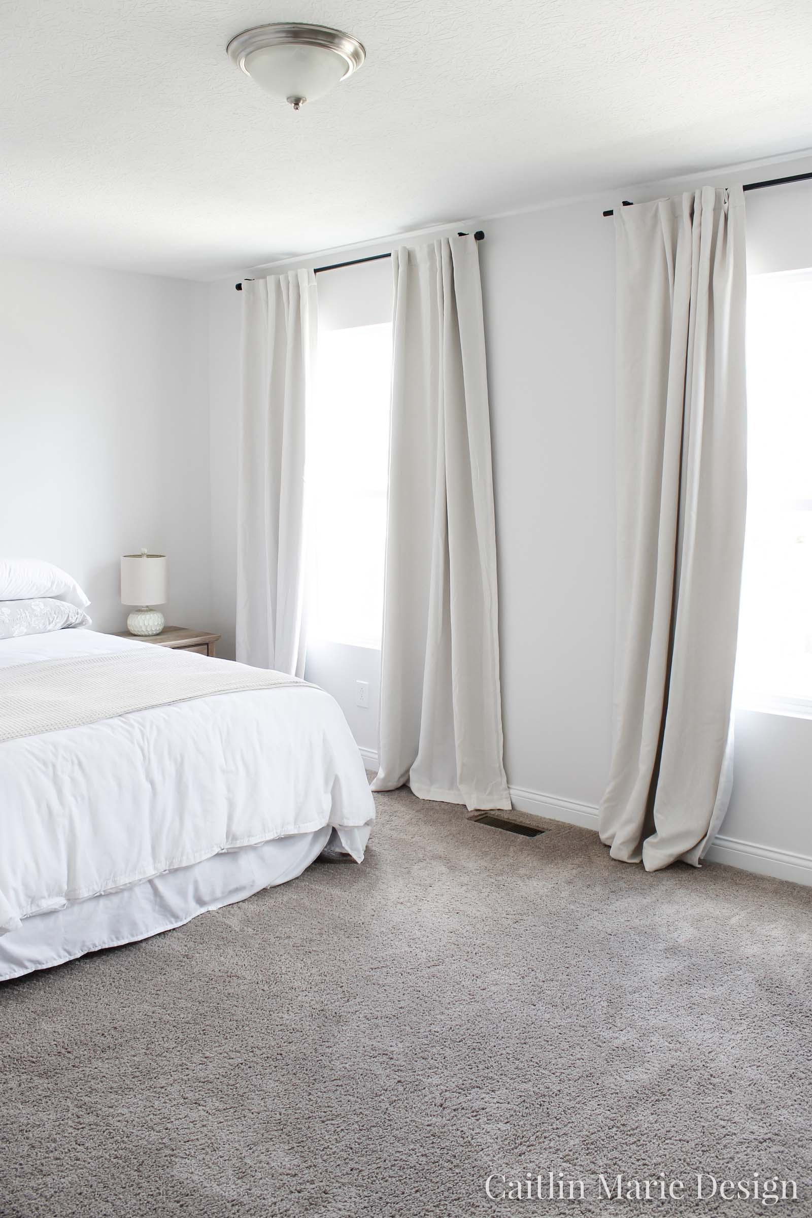 The Best White Paint For Bedrooms Orc Week 2 Caitlin Marie Design