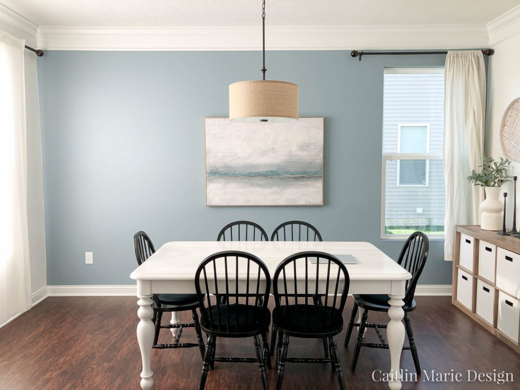 Dining Room BEFORE One Room Challenge Spring 2020