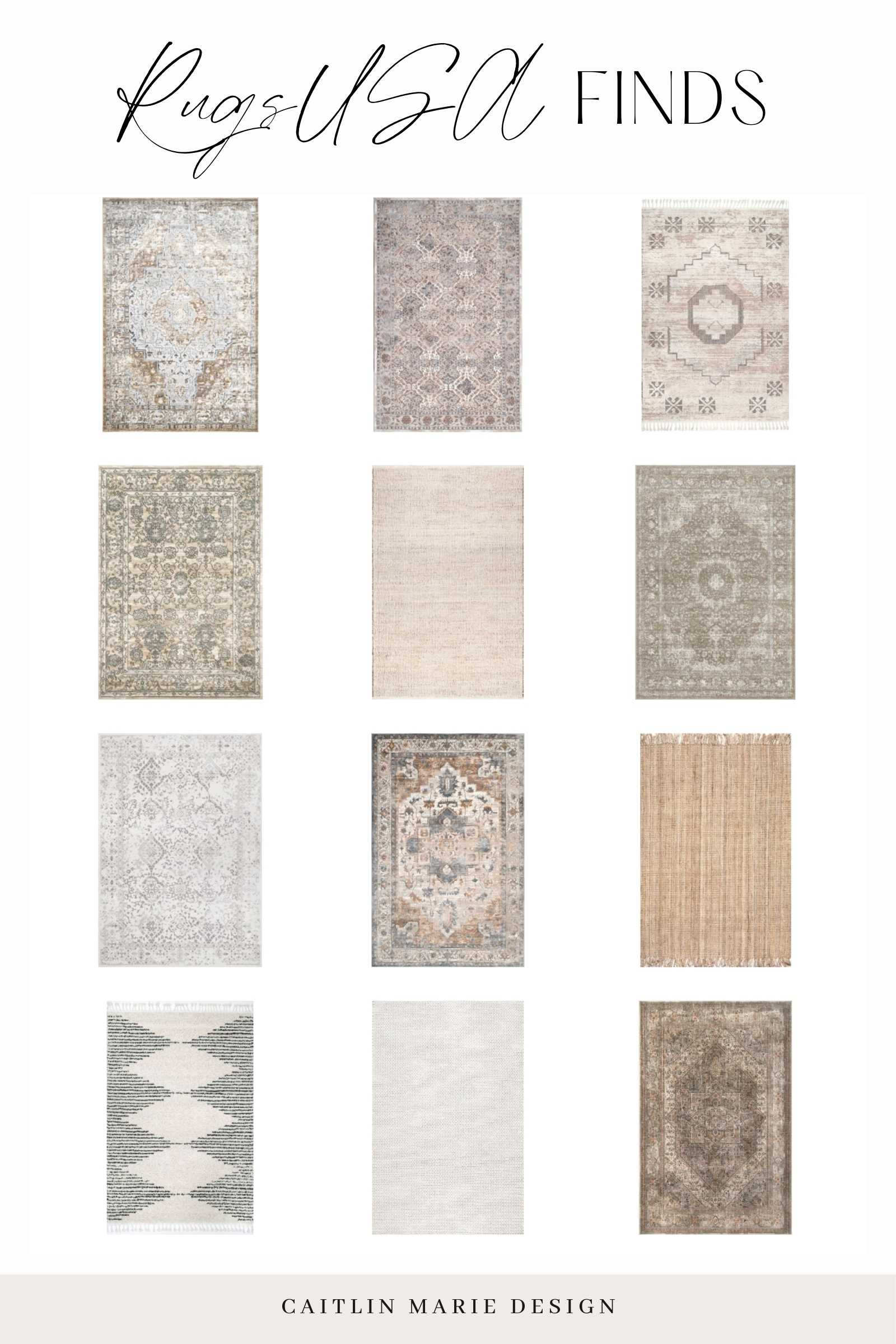 Affordable Area Rugs Roundup - Rugs USA finds